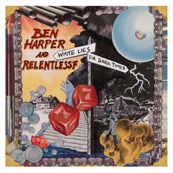 Ben Harper and Relentless 7's White Lies for Dark Times was mastered for CD by Greg Calbi and then assembled and mastered/cut for a 2-LP 180-gram vinyl release by George Marino.