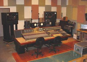Fluxivity's Neve 8048, ATC mains and custom acoustics