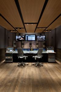 Control/class room with SSL Duality and Lipinski speakers. Photo by Cheryl Fleming Photography: http://www.cherphotos.com/architecture