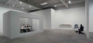 Neil Benezra at On Kawara's Million Years at the David Zwirmer Gallery