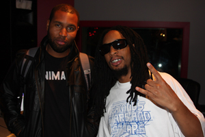 Claude Kelly with Lil Jon