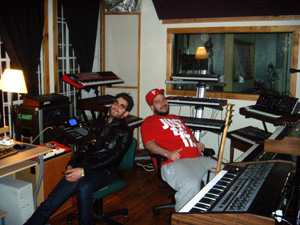 "Chromeo Building ""Wall of Synths"" Sound At MetroSonic"