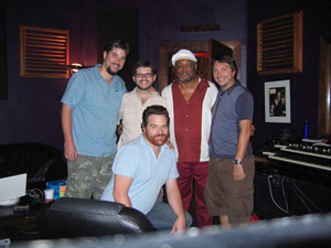 Talib Kweli, Fyre Dept, Pepper Rabbit Recording At Rough Magic in Greenpoint