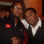 Producer Will Roberson and Just Blaze