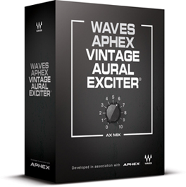 Waves To Release Modeled Plug-In Version of Aphex Vintage Aural Exciter