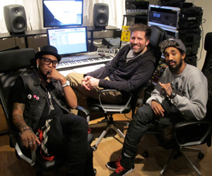 Sneak Preview: Ninjasonik & Sisko In Min Max Studios, NYC