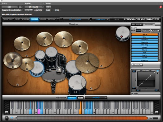 Superior Drummer Mapping Mapping — SonicScoop