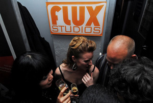 """Picture This: Sightings from The Flux Studios """"Fabulous"""" Party, AES 2011"""