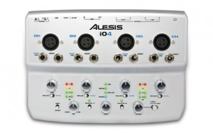 New from Alesis: i04 Four-Channel, 24-bit USB Audio Interface