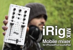 IK Multimedia Announces Mobile Mixer – iRig Mix