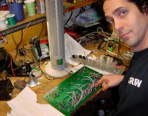 Eric Valentine In The Shop At Barefoot