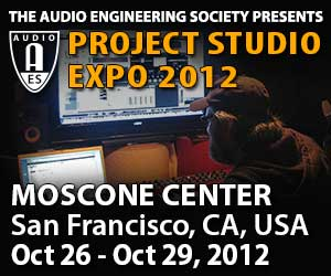 Project Studio Expo to Debut at 133rd AES Convention