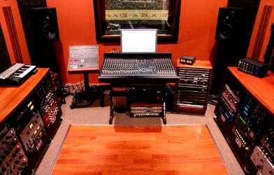 Recording Studio Sweet Spot: Stained Glass Studios-NJ — Weehakwen, New Jersey
