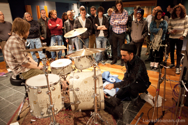 "Master Class: Learn ""The Art of Recording Classic Drums"" with Rich Pagano of the Fab Faux"