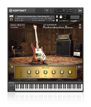 Native Instruments Launches Scarbee Rickenbacker Bass – 1st Software Version Approved by Rickenbacker