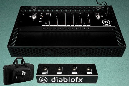 diablo fx launches sound control 6 first wireless guitar fx control pedal sonicscoop. Black Bedroom Furniture Sets. Home Design Ideas