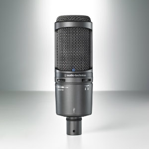Audio-Technica Debuts AT2020USB+ Cardioid Condenser Microphone