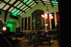 The Church live room at Echo Mountain