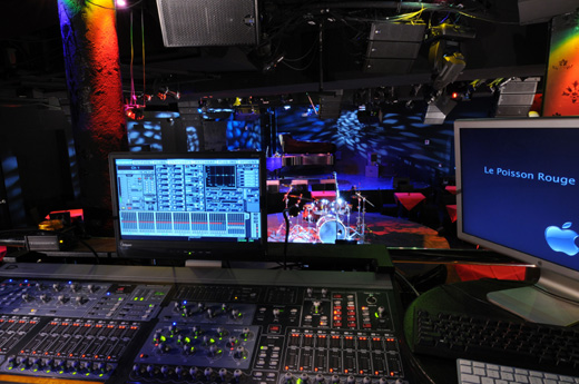 The view from LPR's FOH mix position. (Photo by Robert Wolsch)