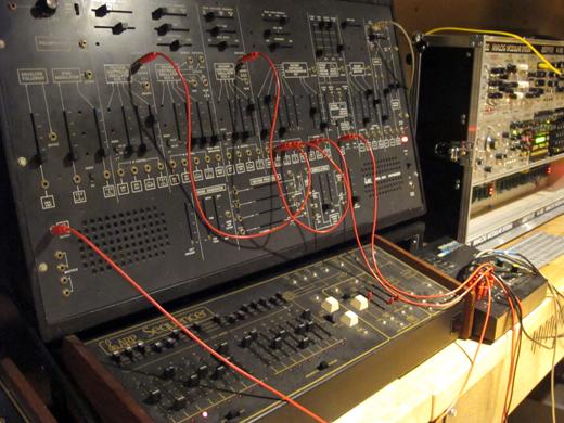 The Arp 2600 has plenty of rhythm.