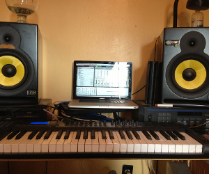 """DIY Tutorial: Stereo Telescope, Three Studios, and the Recording of """"Fires"""""""