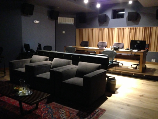 Studio A at Harbor Sound, part of a new wave for NYC audio post.