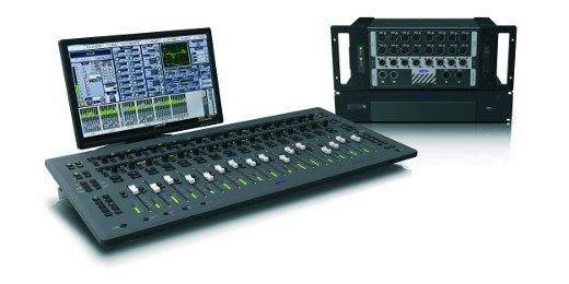 The complete picture of Avid's powerful and compact S3L System.