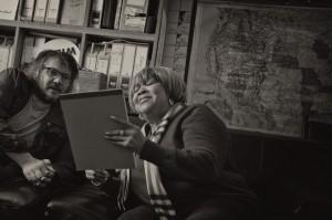 Jeff Tweedy and Mavis Staples. Photo by Spencer Tweedy.