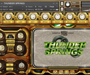 Sample Logic Releases Thunder Springs – Hybrid Percussion Virtual Instrument