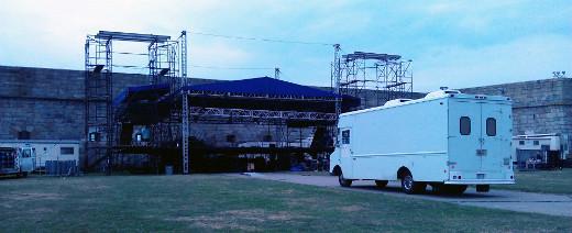 The Bread Machine on Newport Festival location.