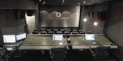 The new Digital Arts 4k theater is NYC's latest facility to meet Hollywood audio post mixing standards.