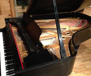 Premier Studios Debuts Rebuilt Steinway B 1968 Grand Piano