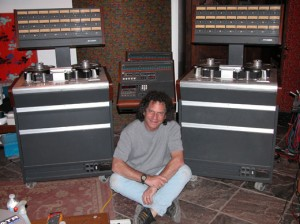 """Midnight Bob"" Shuster has been maintaining tape machines professionally since 1975."