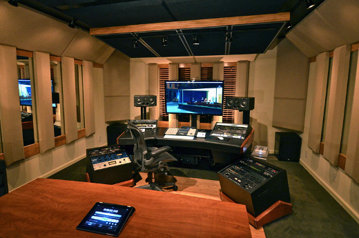 "Bob Bullock's personal studio, AKA ""The Dream Room"""