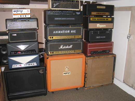 Amps supplied.
