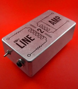 """LINE2AMP Re-Amp Kit ($47.95): """"A great project for first-time DIYers. Difficulty: 2/10″"""