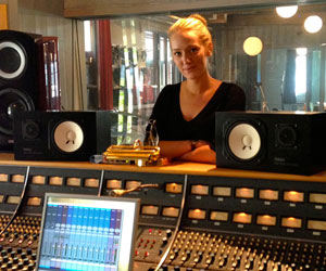 Behind The (Swedish) Glass…RMV Studios and Linn Fijal