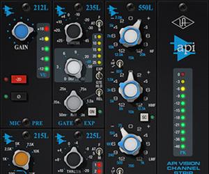 Universal Audio Releases API Vision Channel Strip for UAD Platform