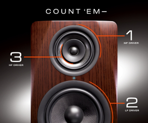 M-Audio Releases M3-8: 3-Way Studio Reference Monitor