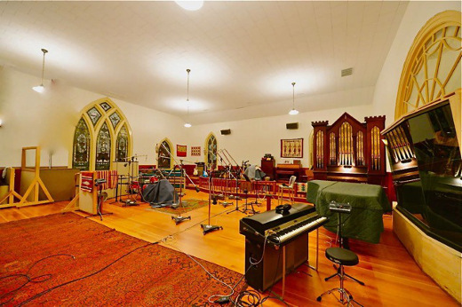Pilot Recording is an ode to audio, at a former church in the Berkshires.