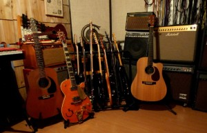 Guitars are well represented.