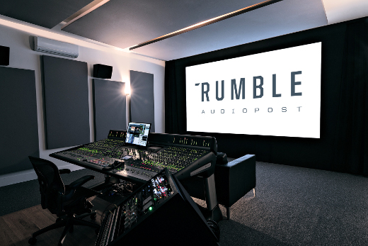 Rumble Audio figures to fit in perfectly with the Brooklyn/NYC audio post landscape.