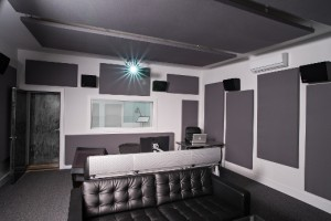Project your next media into the Dave Ellis-designed space.