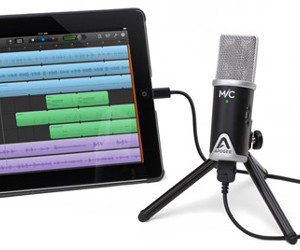 Apogee Launches MiC 96k – Higher Fidelity Microphone for iPad, iPhone & Mac