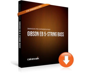 Cakewalk Releases Gibson EB 5-String Bass Expansion For Dimension Pro Sampler