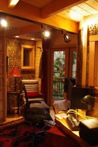 Inside The Treehouse at Bear Creek