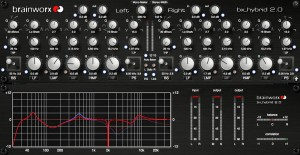 Brainworx's bx_hybrid is a Mono & Stereo EQ (click to enlarge)