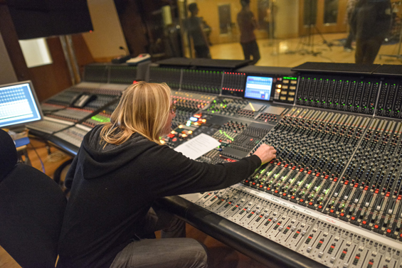 Ainlay running the session, at the console