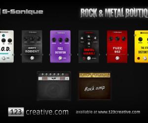 123creative.com Releases ROCK and METAL Boutique — Digital Pedals & Combos