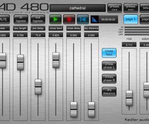 Fiedler Audio Releases AD 480 Reverb – Fully Featured Reverb for iOS